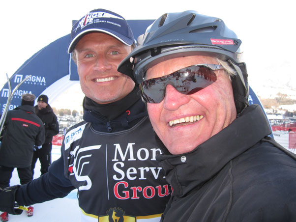 David Coulthard with Bert Leibetseder