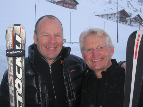 Franz Weber with Bert Leibetseder